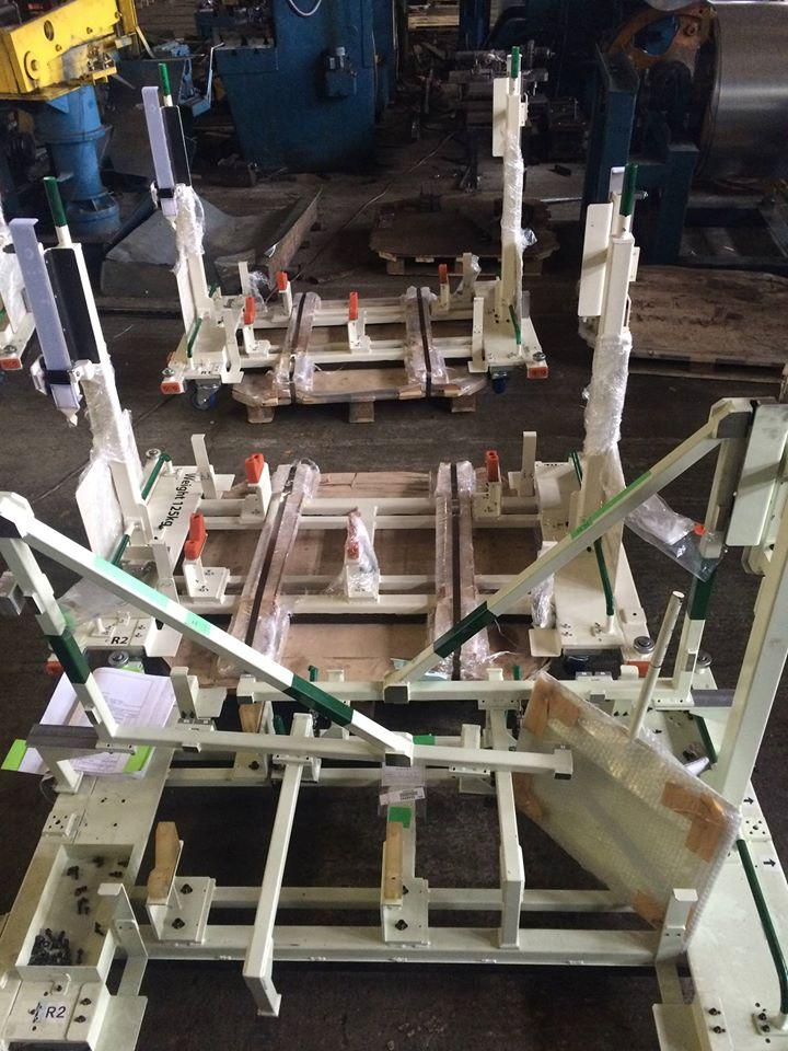Металлические конструкции под заказ: Технологические и нестандартные тележки